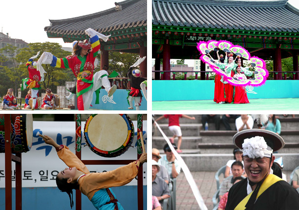 Cultural events held during the Chuseok holidays